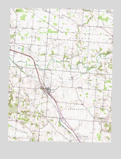 Carroll, OH USGS Topographic Map