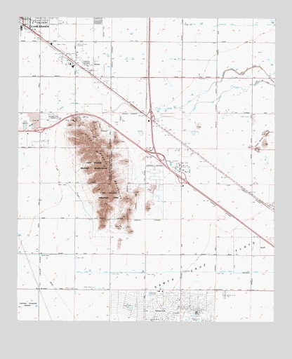 Casa Grande Mountains, AZ Topographic Map - TopoQuest