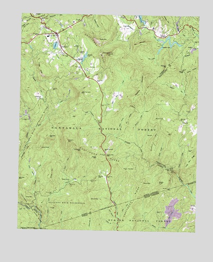 Cashiers Nc Topographic Map Topoquest