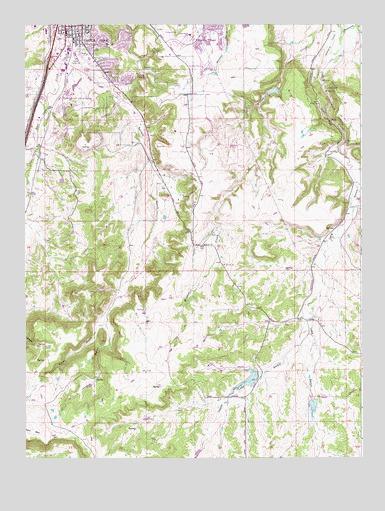 Castle Rock Colorado Map Castle Rock South, CO Topographic Map   TopoQuest