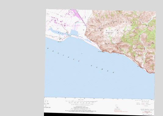 Point Mugu California Map.Point Mugu Ca Topographic Map Topoquest