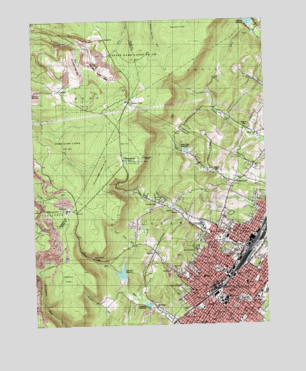 Altoona Pa Topographic Map Topoquest
