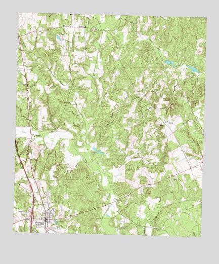Centerville Tx Topographic Map Topoquest