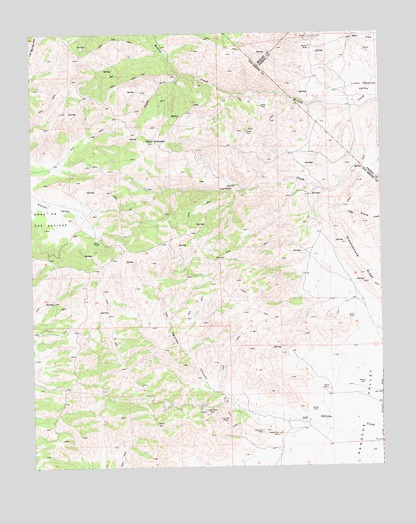Cerro Colorado, CA USGS Topographic Map