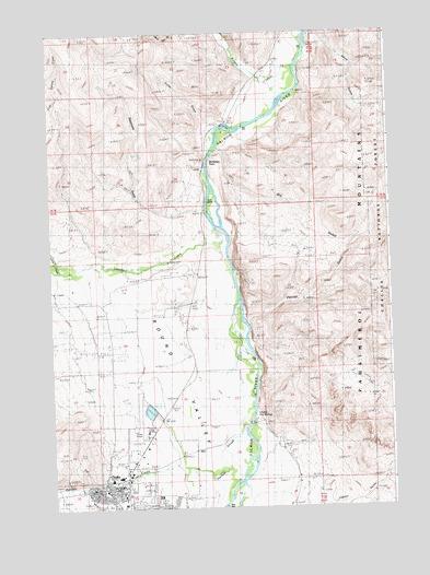Challis Id Topographic Map Topoquest