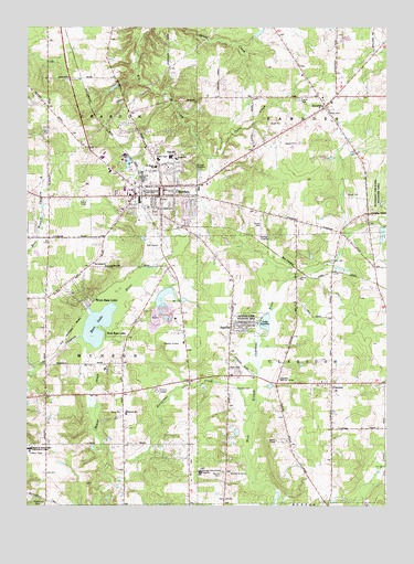 Chardon Oh Topographic Map Topoquest
