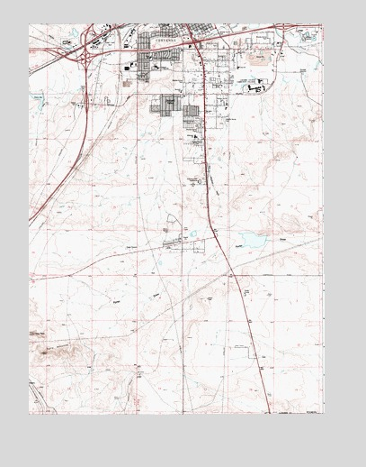 Cheyenne South WY Topographic Map  TopoQuest