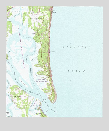 Amelia City, FL Topographic Map - TopoQuest