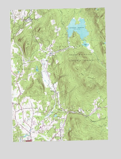 Topographic Map Vermont.Chittenden Vt Topographic Map Topoquest