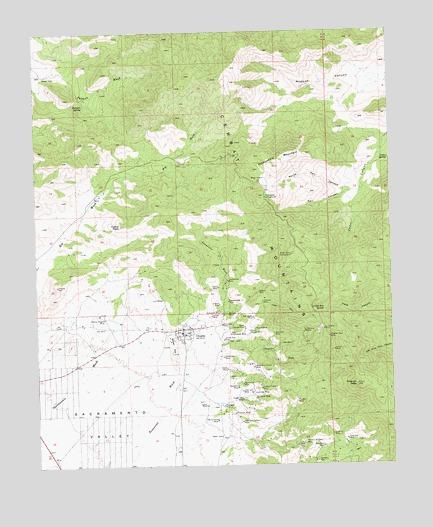 Chloride, AZ Topograph...