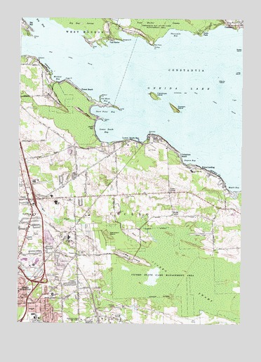 Cicero, NY USGS Topographic Map