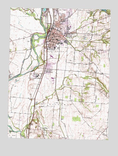Circleville, OH Topographic Map   TopoQuest