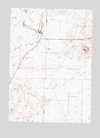 Circular Butte, ID USGS Topographic Map