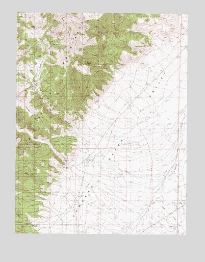 Clan Alpine Ranch Nv Topographic Map Topoquest