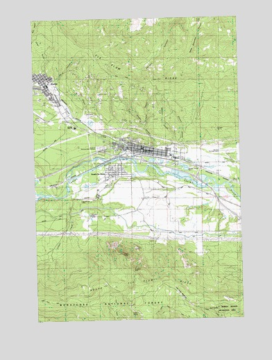 Cle Elum Wa Topographic Map Topoquest