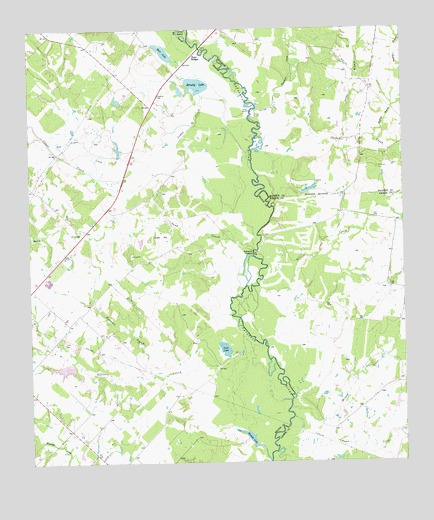 Clear Lake, TX Topographic Map - TopoQuest