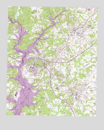 Clemson Sc Topographic Map Topoquest
