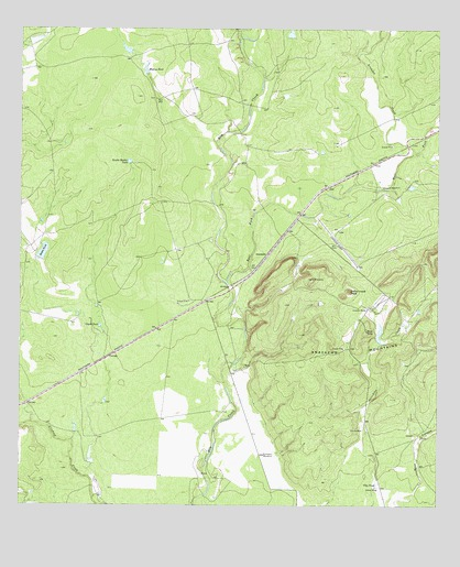 Anacacho, TX USGS Topographic Map