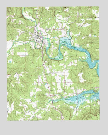 Clinton, AR Topographic Map - TopoQuest