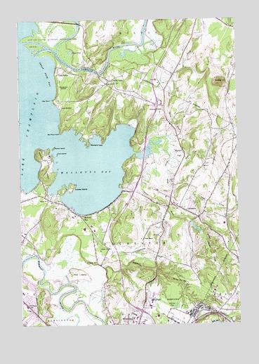 Colchester, VT Topographic Map - TopoQuest