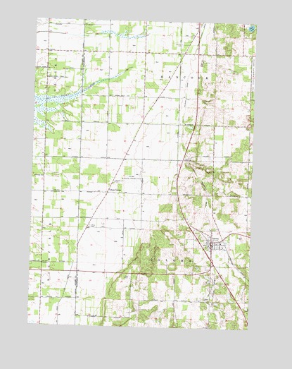 Coloma Wisconsin Map.Coloma Wi Topographic Map Topoquest