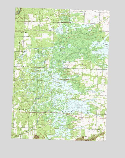 Coloma Wisconsin Map.Coloma Sw Wi Topographic Map Topoquest
