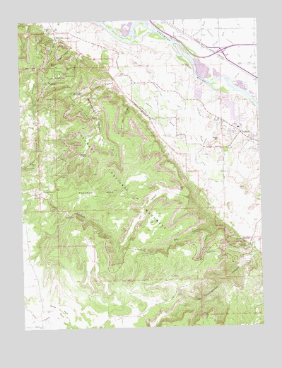 Colorado National Monument, CO Topographic Map - TopoQuest