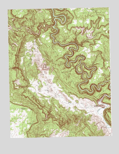 Anderson Mesa Co Topographic Map Topoquest