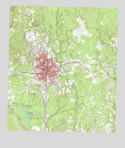 Conroe, TX USGS Topographic Map