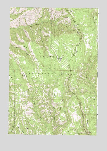 Andies Prairie, OR USGS Topographic Map