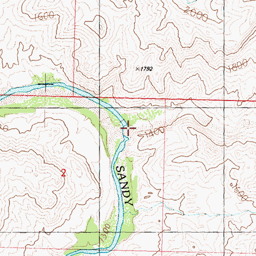 Topographic Map of Signal Canyon, AZ