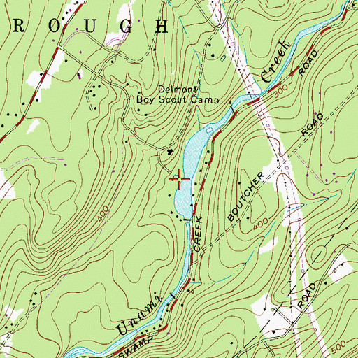 Places To Camp Pa: Camp Delmont Dam, PA