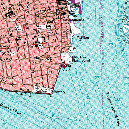 Topographic Map of Carolina Yacht Club, SC