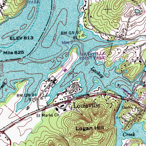 fort loudoun lake map Fort Loudoun Lake Tn fort loudoun lake map