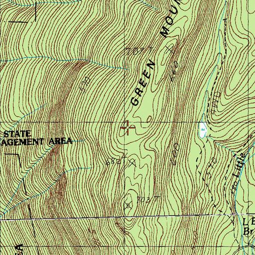 Green Mountain Trail, VT