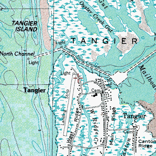Tangier Island Virginia Map.Tangier Island Airport Va