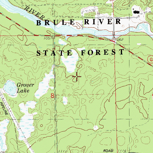 Brule River State Forest Annex Wi