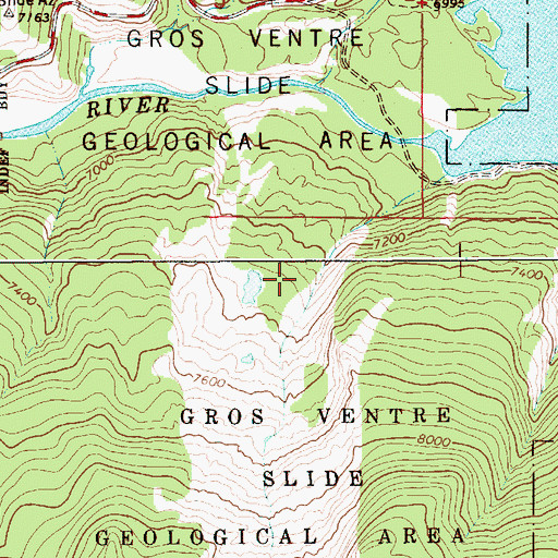 how to find for geological features