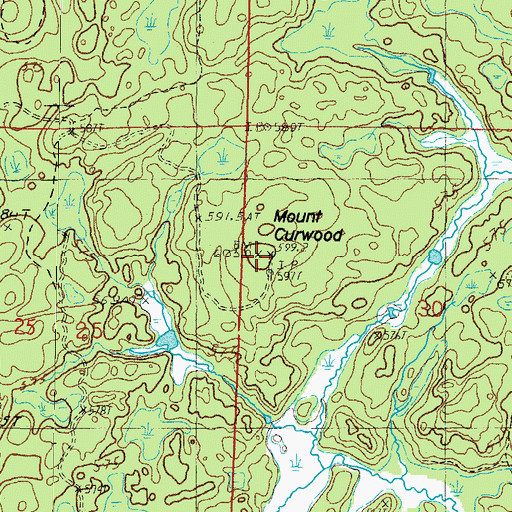 Mount curwood mi topographic map of mount curwood mi publicscrutiny Image collections