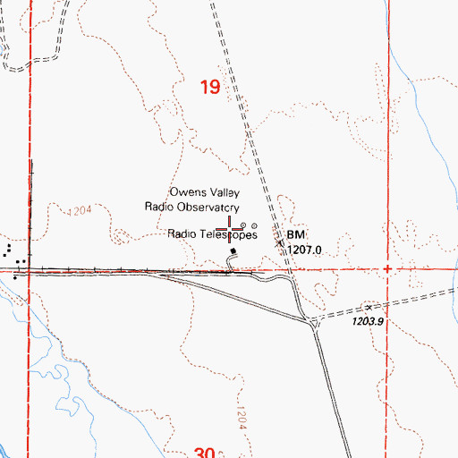 Owens Valley Radio Observatory Ca