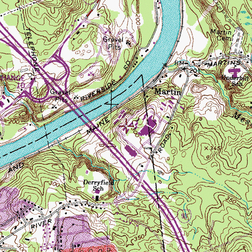 Topographic Map of Greeby House, NH