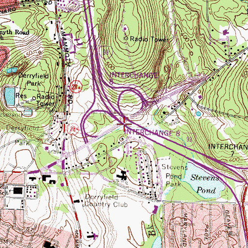 Topographic Map of Sisters of the Precious Blood Monastery, NH