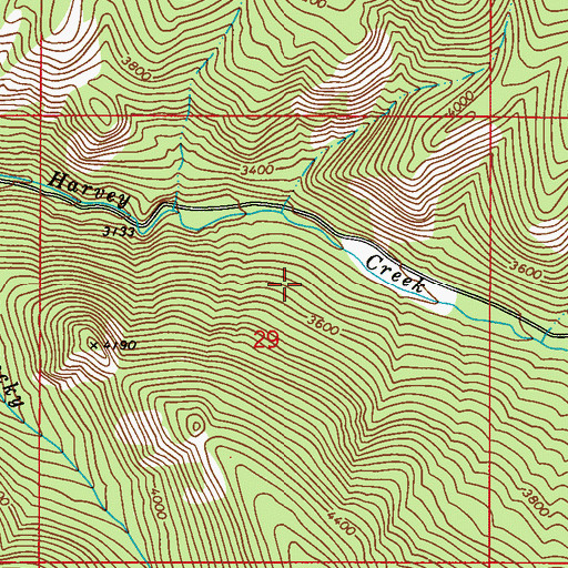 Topographic Map of Ione-Metaline Falls Division, WA