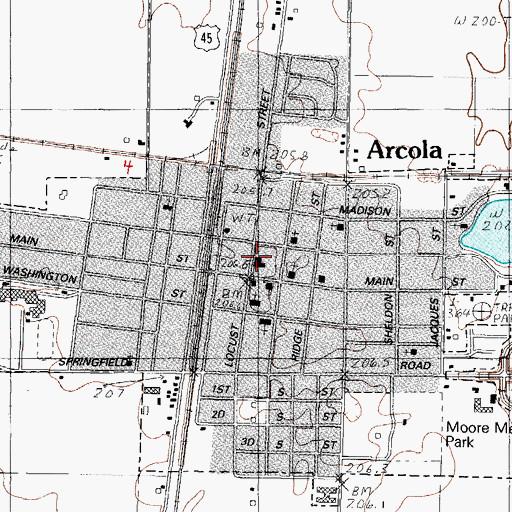 Arcola City Hall Il