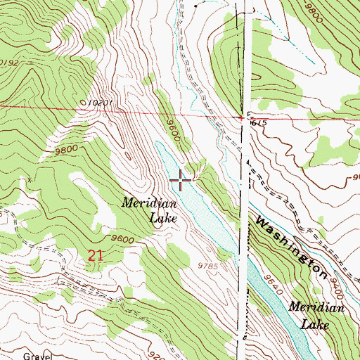 Topographic Map of Lake Brennand Dam, CO