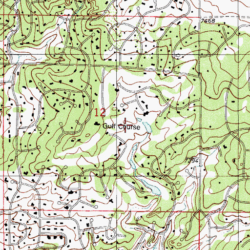 Topographic Map of C C Woodmoor Number 4 Dam, CO