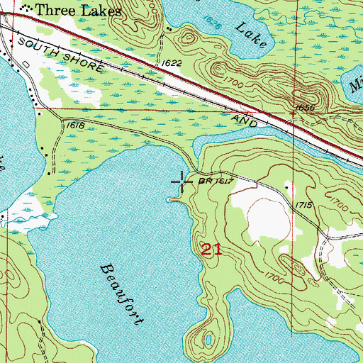 Beaufort Lake State Forest Campground, MI