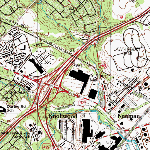 Topographic Map of Akorebakissing (historical), DE