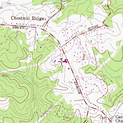 Topographic Map of Nike Site BA-92C (historical), MD