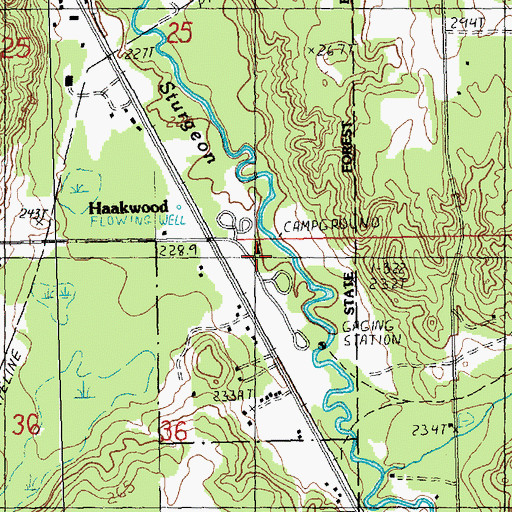 Dnr Fuelwood Maps ~ Michigan State Forest Map